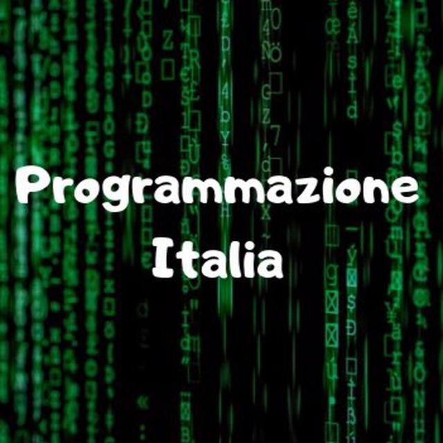 Programmazione Italia