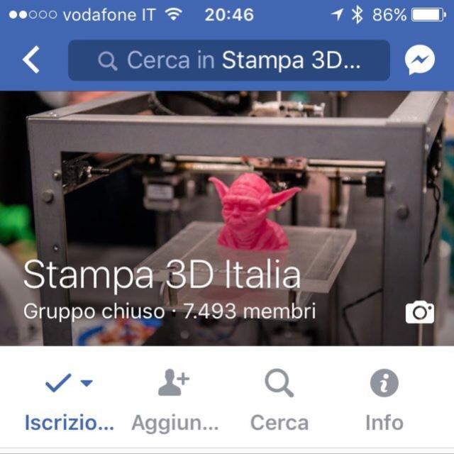 Stampa 3D Italia